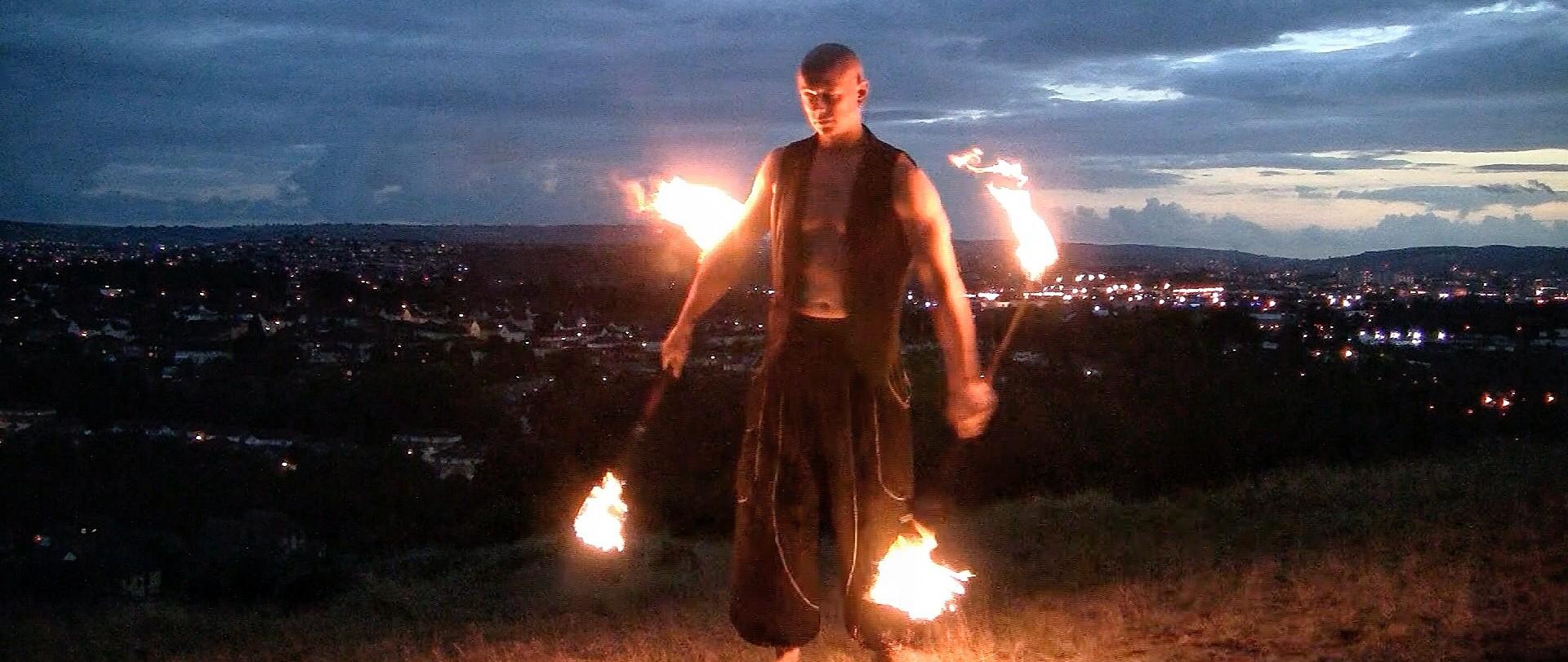 Fire Spinner Circus - Bristol - Bath - 07747571426 benlowrey@me.com