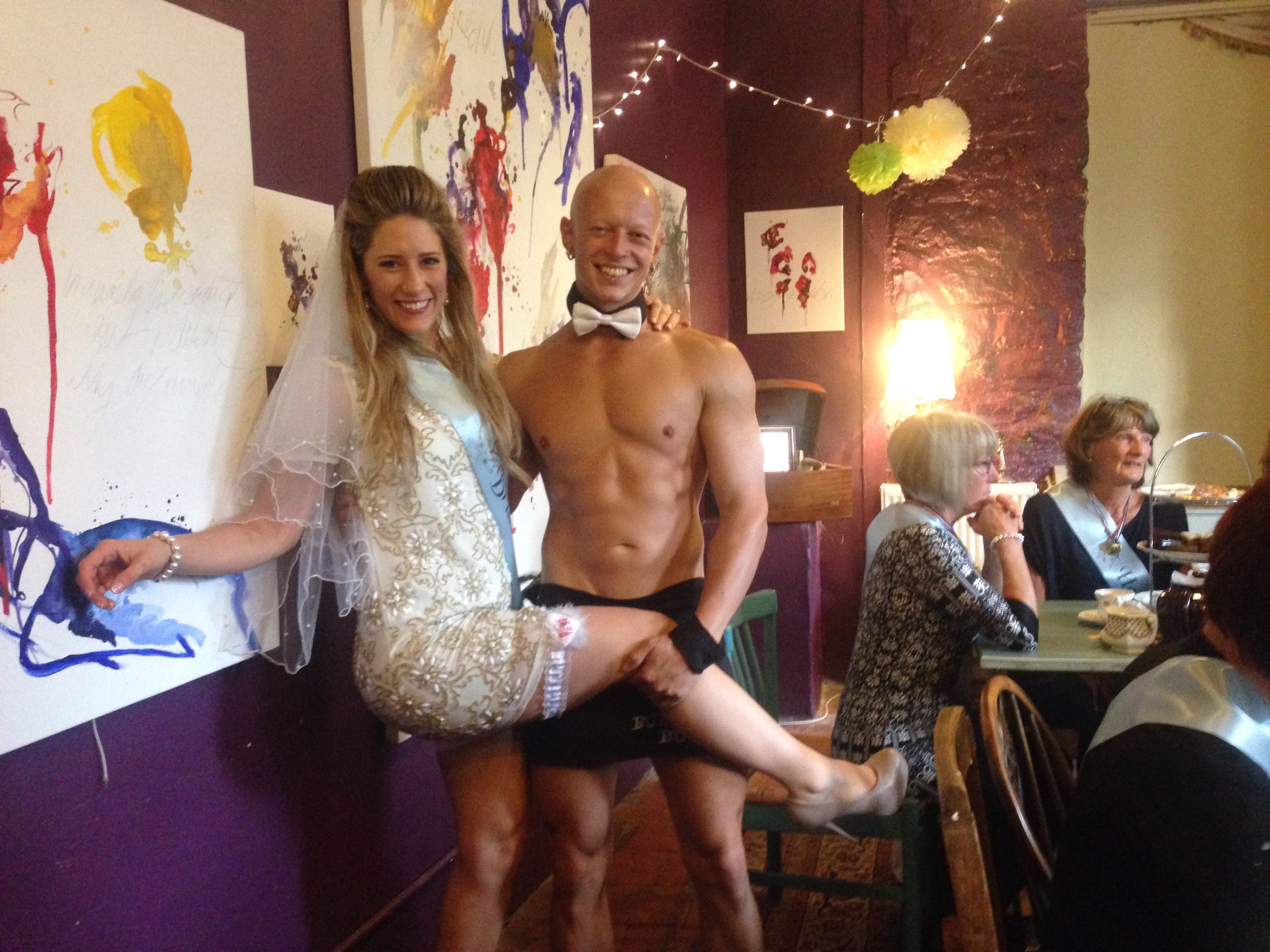 Hen Party Buff Butler - Bristol - Bath - 07747571426 benlowrey@me.com