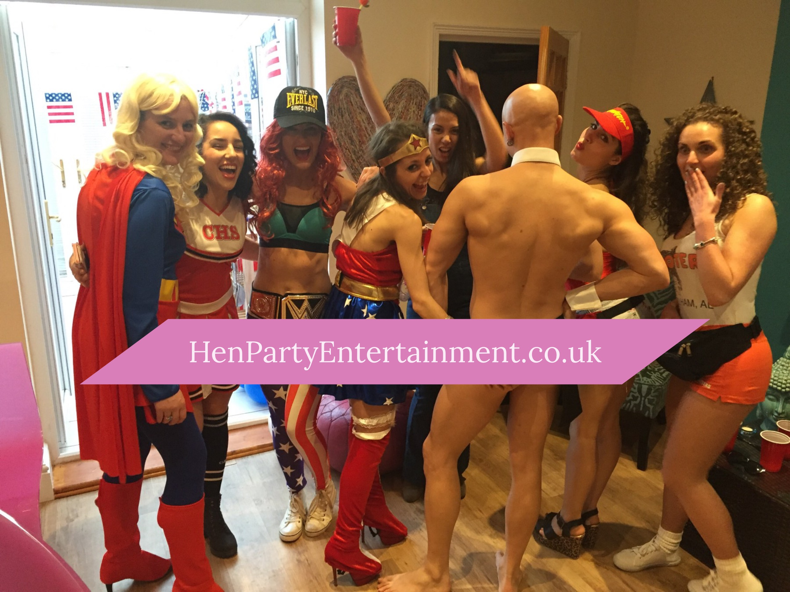 Hen Party activities & entertainment in Bristol, Bath, Gloucester, Cotwolds, Swindon, Somerset, Cardiff. Buff Butler & Male Life Model for Hen Party Life Drawing sessions - 07747571426 - benlowrey@me.com - www.henpartyentertainment.co.uk