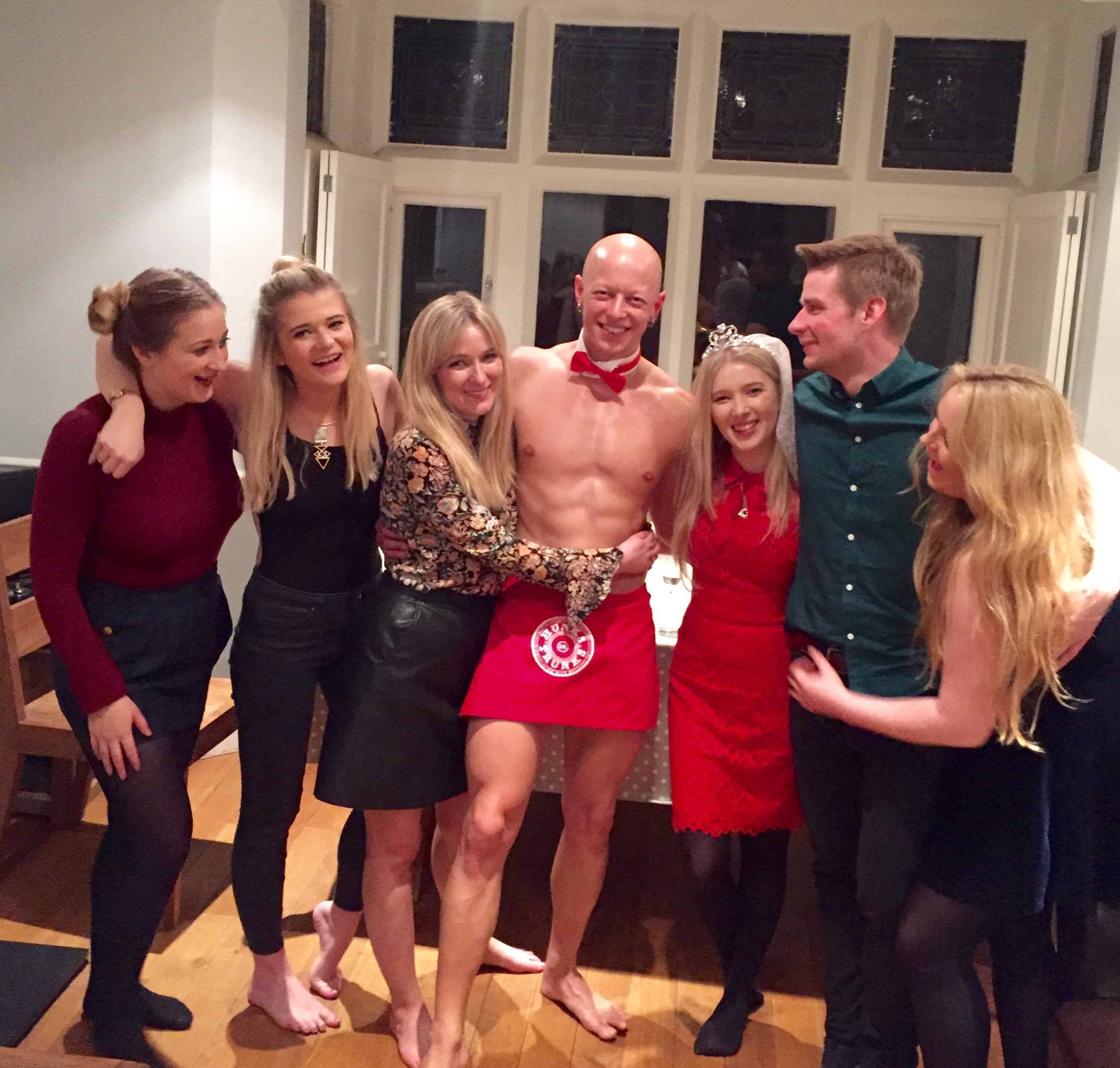 Hen Party Butler in the Buff in Bath - Hen Party Entertainment