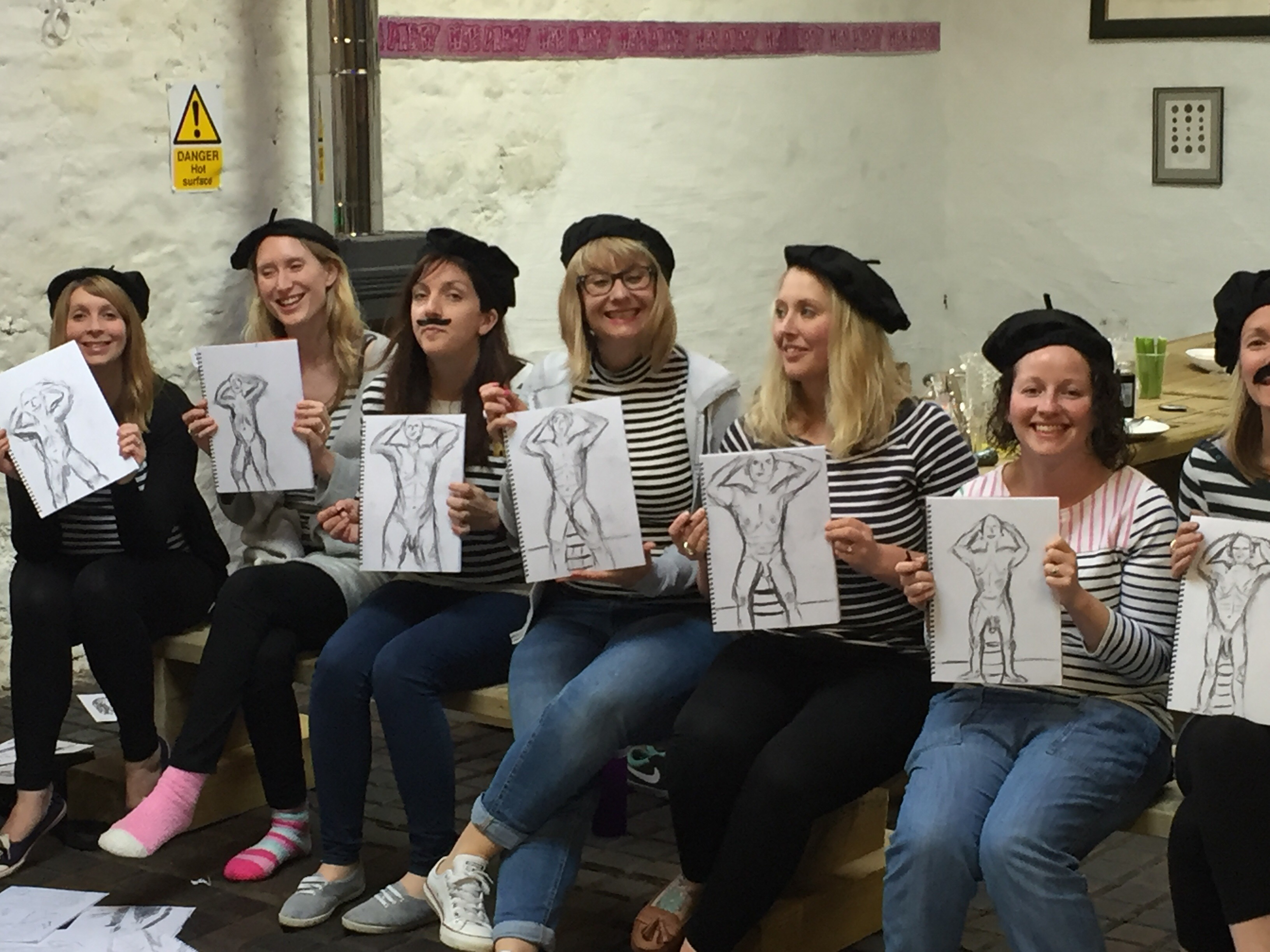 Life Drawing Models Ireland for life changing Hen Parties